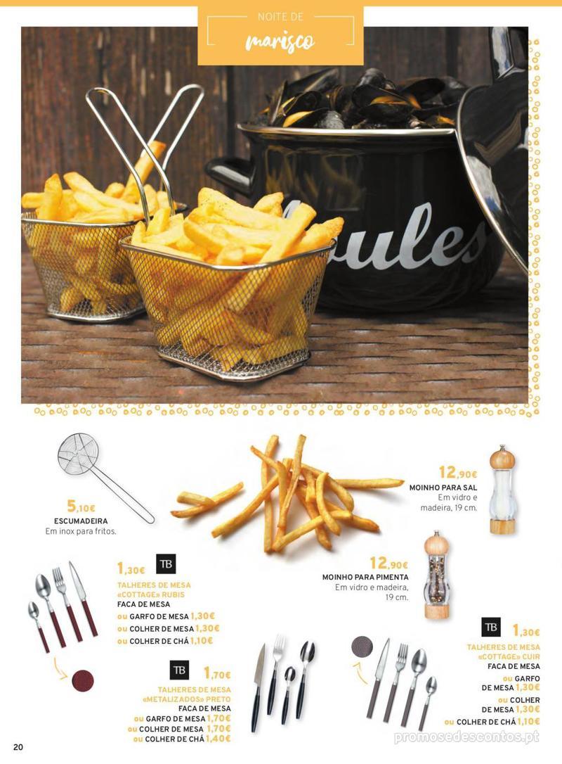 Folheto E.leclerc Mesa e Cozinha - 1 de Abril a 30 de Setembro - página 20