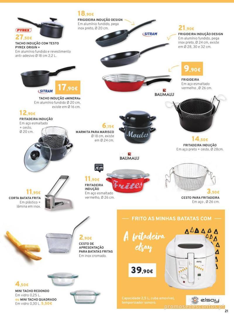Folheto E.leclerc Mesa e Cozinha - 1 de Abril a 30 de Setembro - página 21