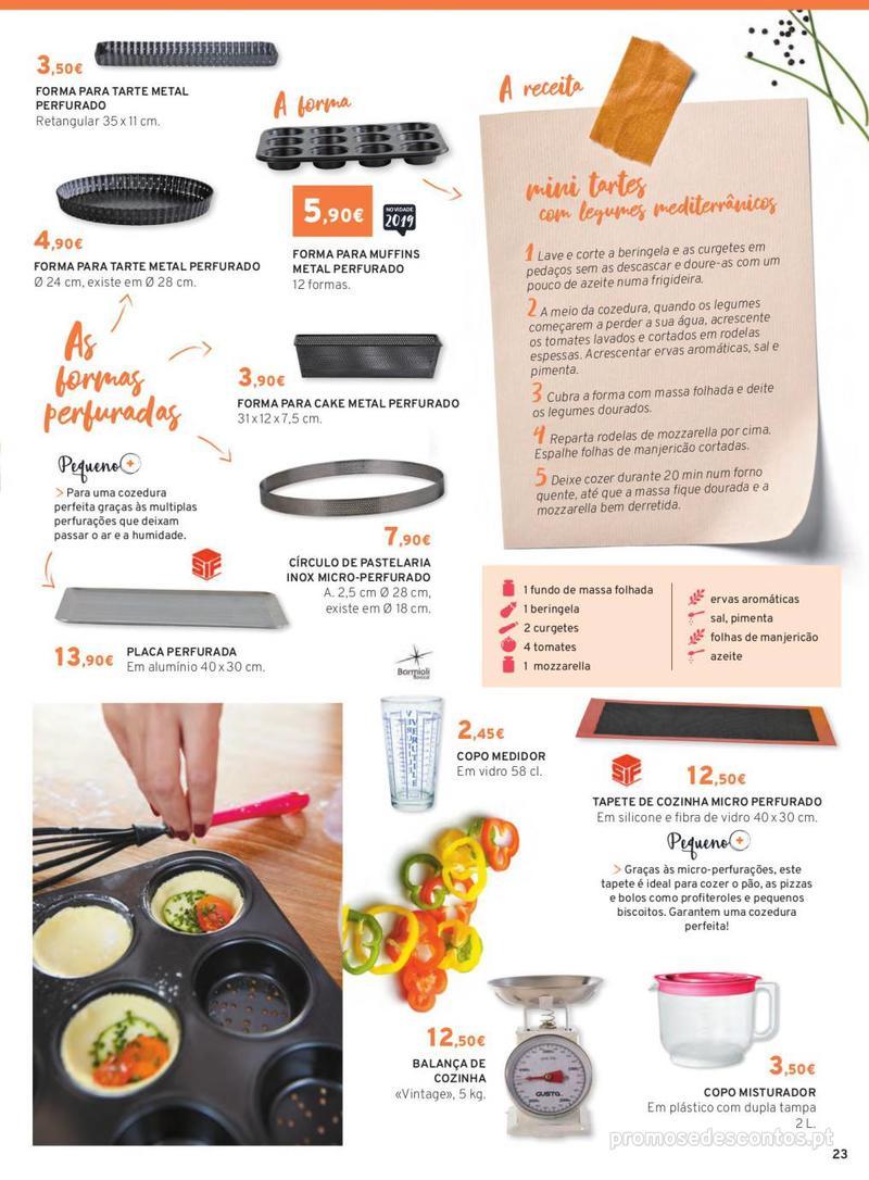 Folheto E.leclerc Mesa e Cozinha - 1 de Abril a 30 de Setembro - página 23