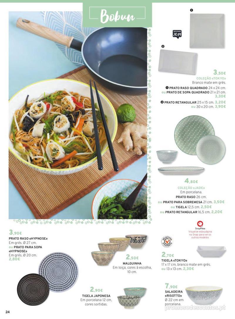 Folheto E.leclerc Mesa e Cozinha - 1 de Abril a 30 de Setembro - página 24