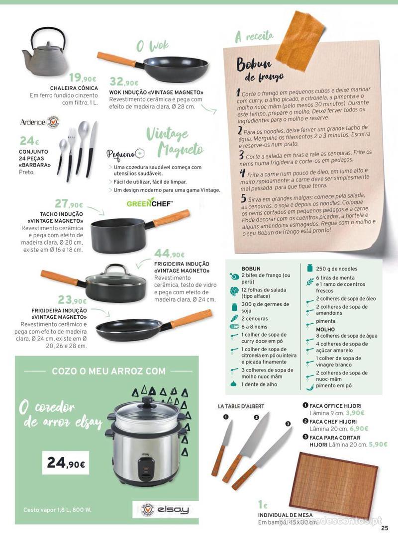 Folheto E.leclerc Mesa e Cozinha - 1 de Abril a 30 de Setembro - página 25