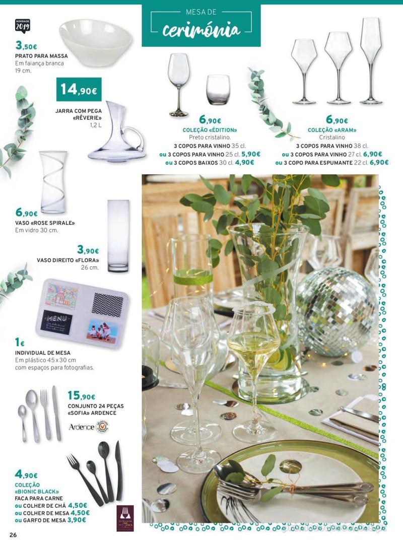 Folheto E.leclerc Mesa e Cozinha - 1 de Abril a 30 de Setembro - página 26