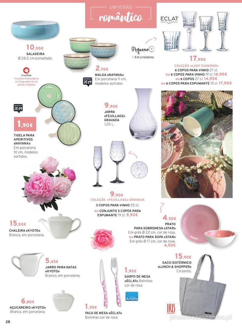 Folheto E.leclerc Mesa e Cozinha - 1 de Abril a 30 de Setembro - página 28