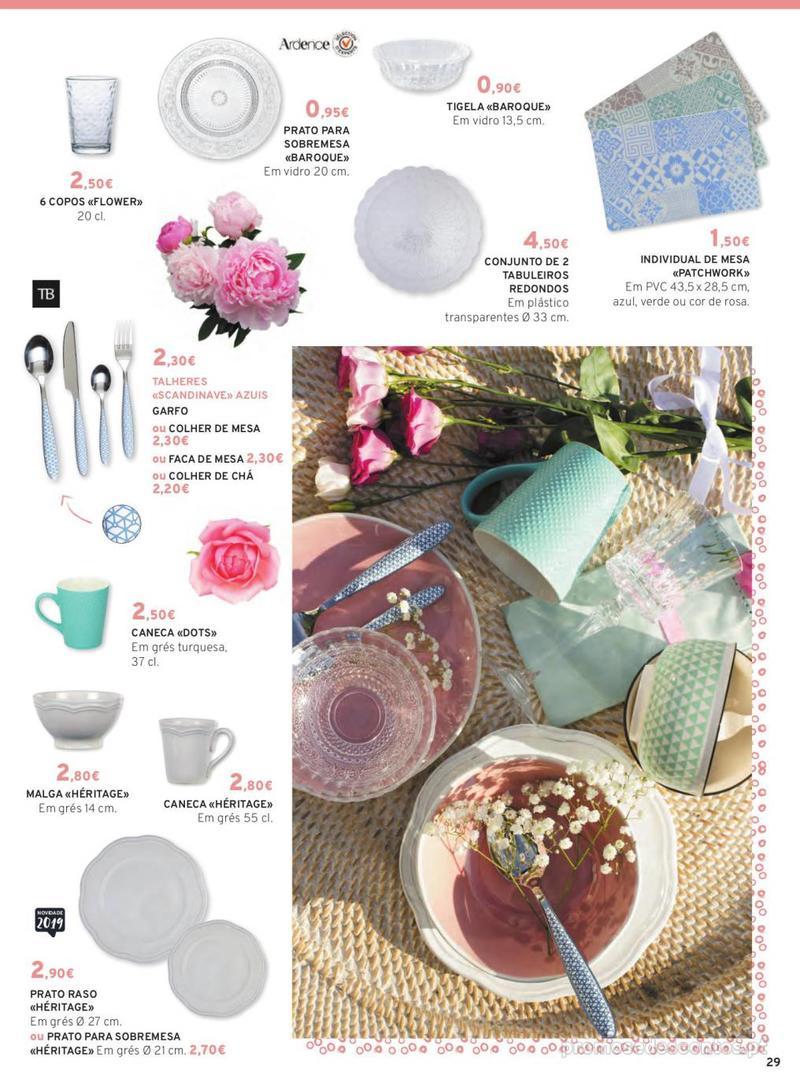 Folheto E.leclerc Mesa e Cozinha - 1 de Abril a 30 de Setembro - página 29