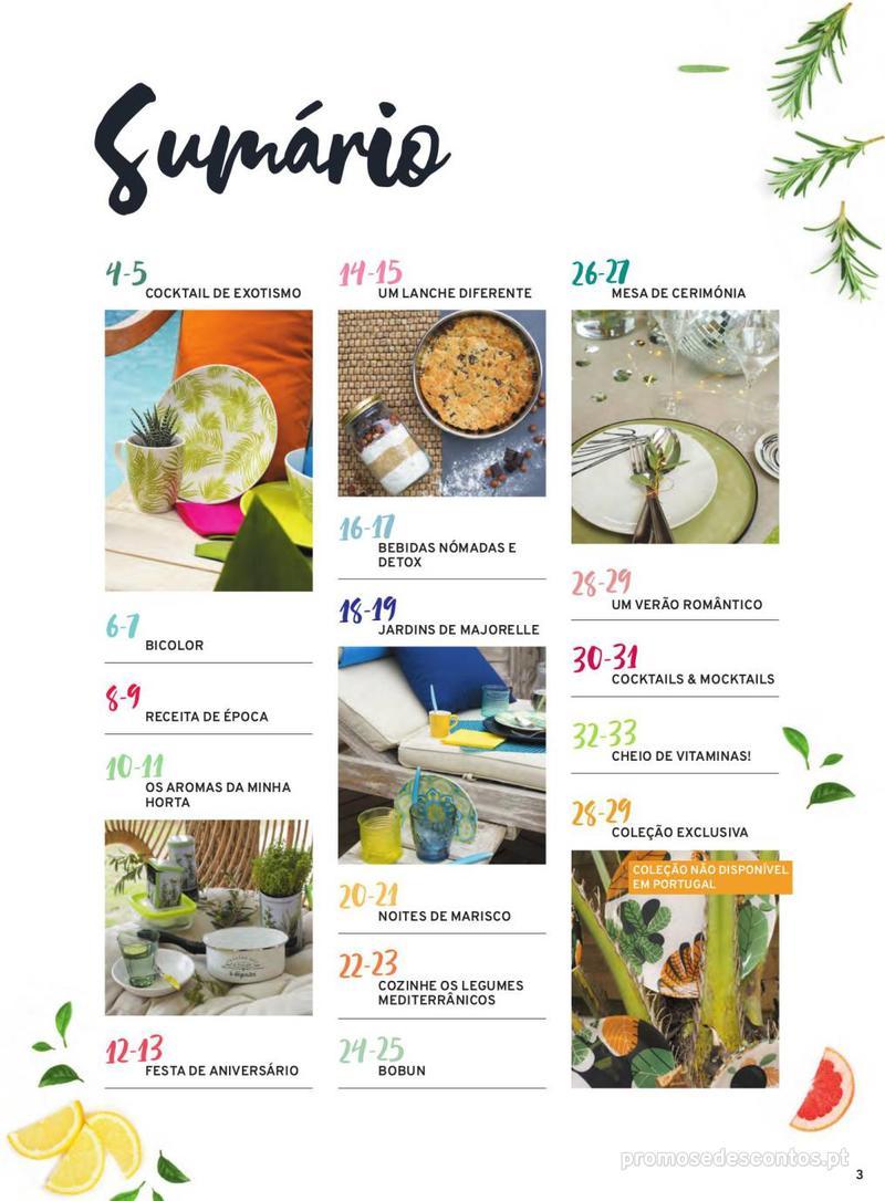 Folheto E.leclerc Mesa e Cozinha - 1 de Abril a 30 de Setembro - página 3