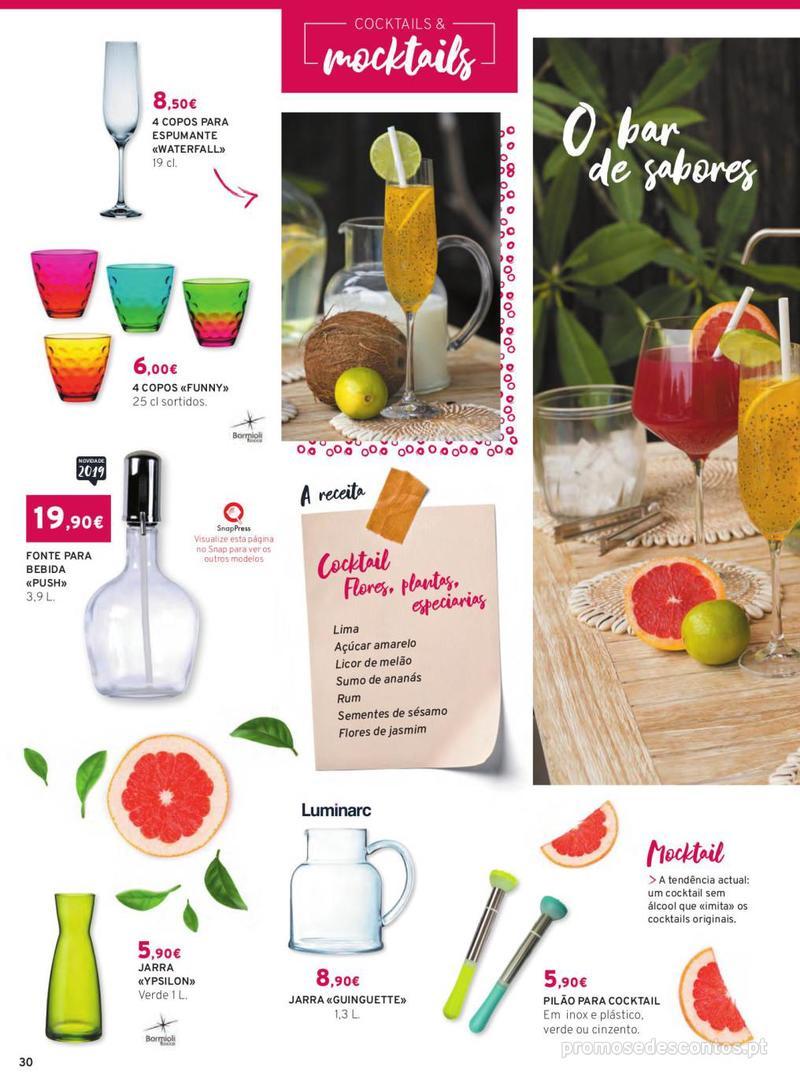 Folheto E.leclerc Mesa e Cozinha - 1 de Abril a 30 de Setembro - página 30