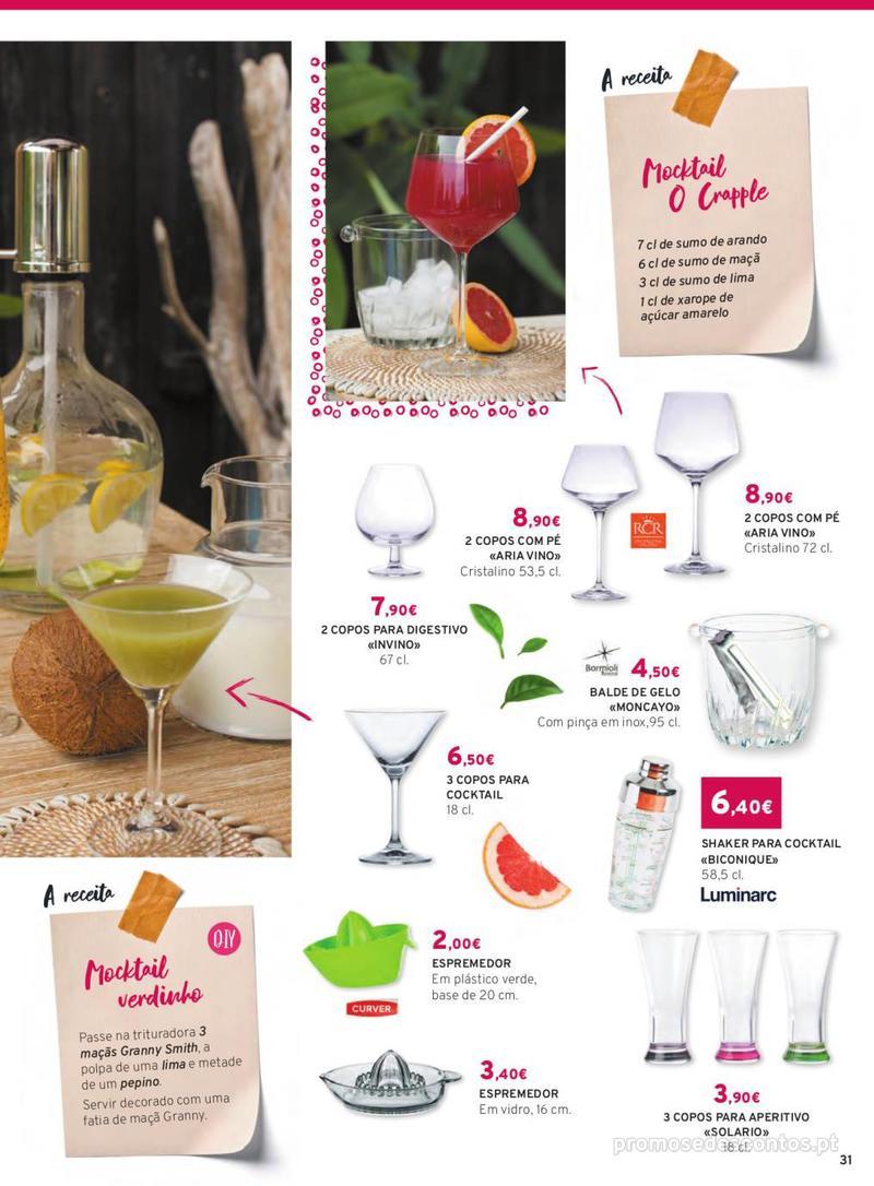 Folheto E.leclerc Mesa e Cozinha - 1 de Abril a 30 de Setembro - página 31