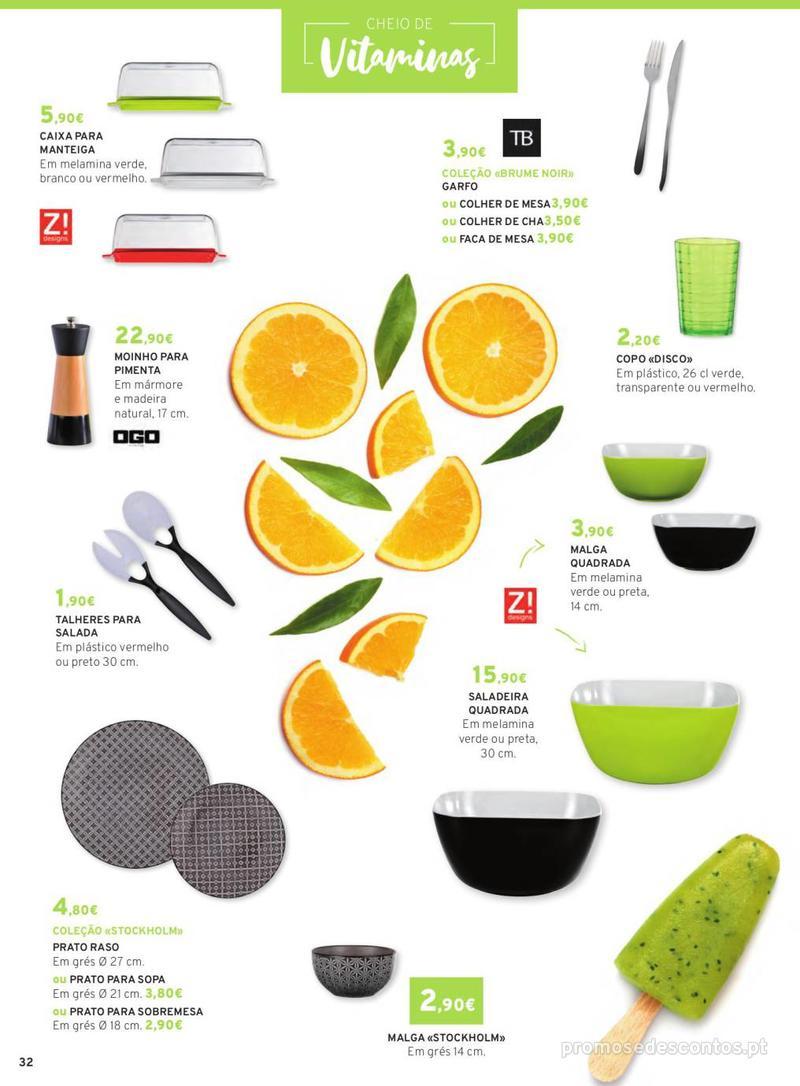 Folheto E.leclerc Mesa e Cozinha - 1 de Abril a 30 de Setembro - página 32