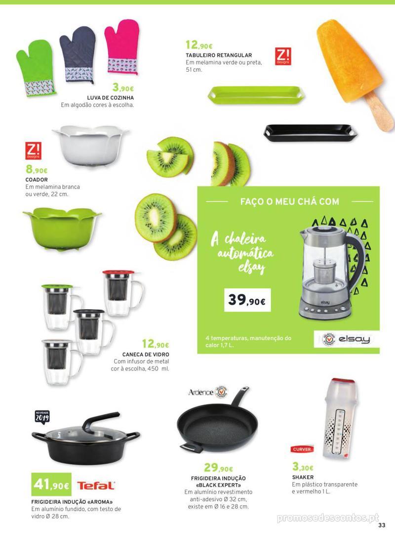 Folheto E.leclerc Mesa e Cozinha - 1 de Abril a 30 de Setembro - página 33