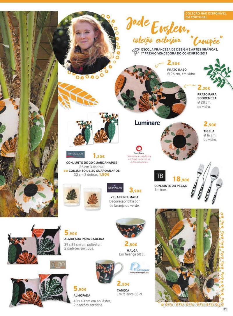 Folheto E.leclerc Mesa e Cozinha - 1 de Abril a 30 de Setembro - página 35