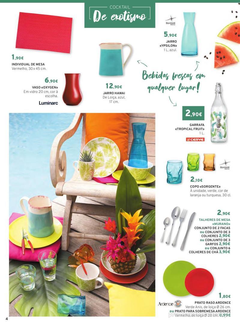 Folheto E.leclerc Mesa e Cozinha - 1 de Abril a 30 de Setembro - página 4