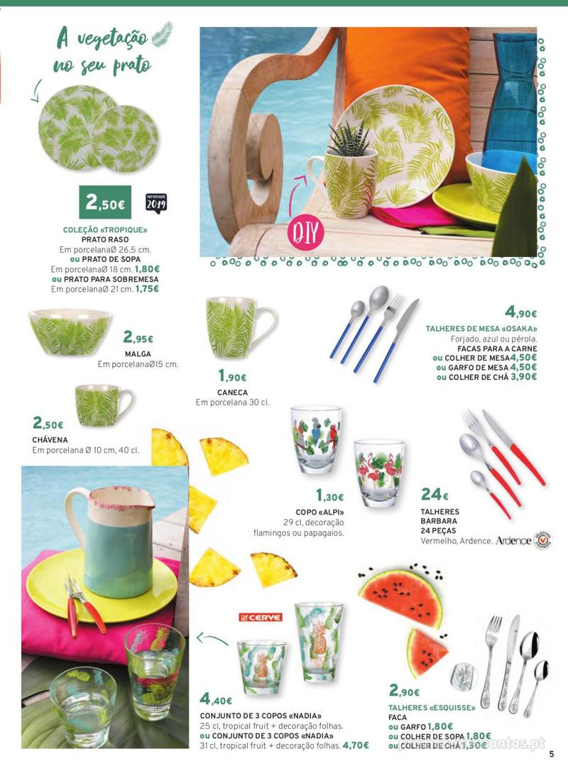 Folheto E.leclerc Mesa e Cozinha - 1 de Abril a 30 de Setembro - página 5