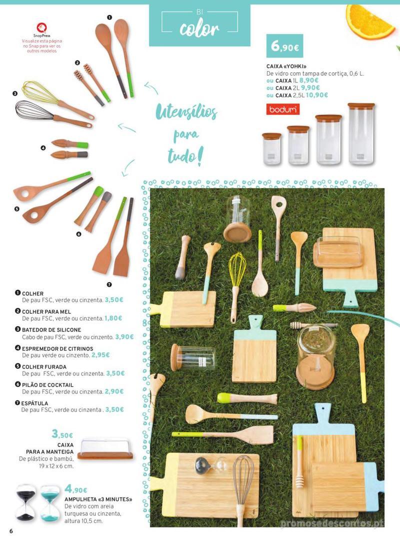 Folheto E.leclerc Mesa e Cozinha - 1 de Abril a 30 de Setembro - página 6