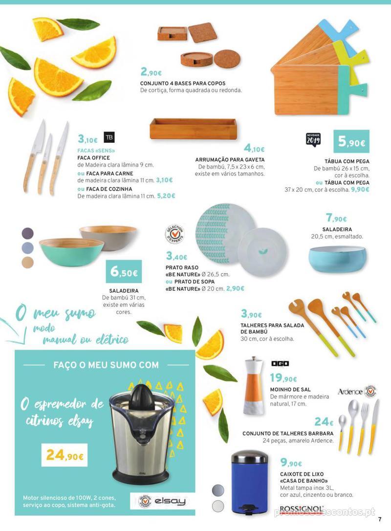 Folheto E.leclerc Mesa e Cozinha - 1 de Abril a 30 de Setembro - página 7