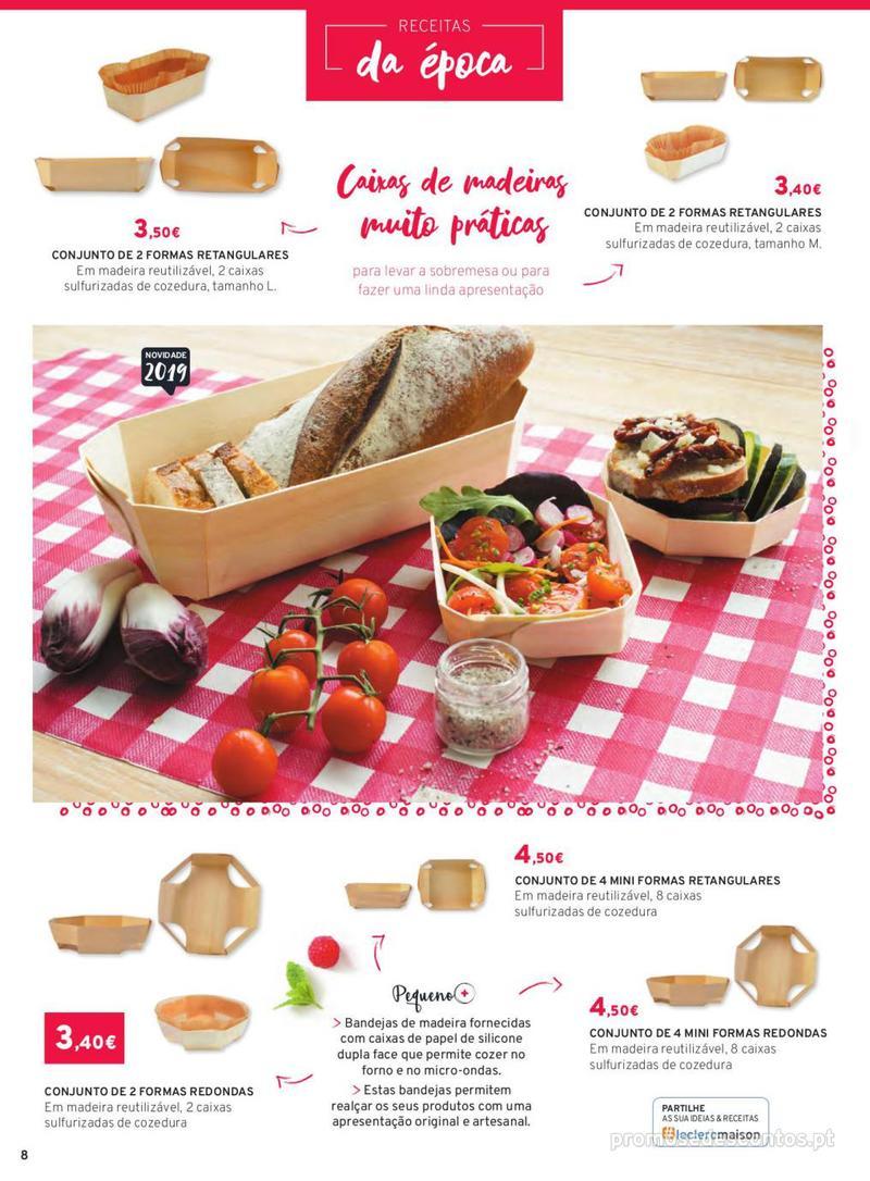 Folheto E.leclerc Mesa e Cozinha - 1 de Abril a 30 de Setembro - página 8