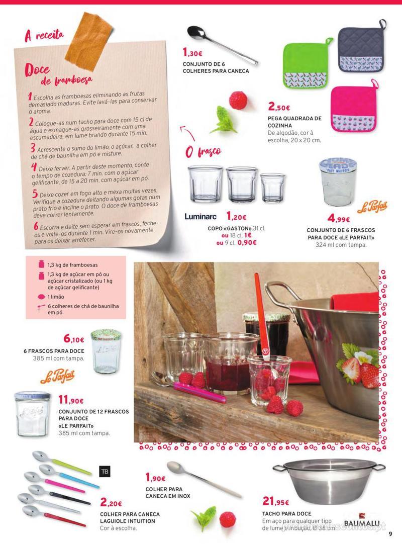 Folheto E.leclerc Mesa e Cozinha - 1 de Abril a 30 de Setembro - página 9