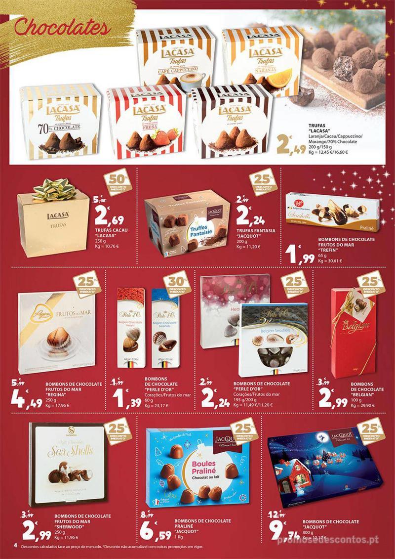 Folheto E.leclerc Presentes para um Natal delicioso - 30 de Novembro a 16 de Dezembro - página 4