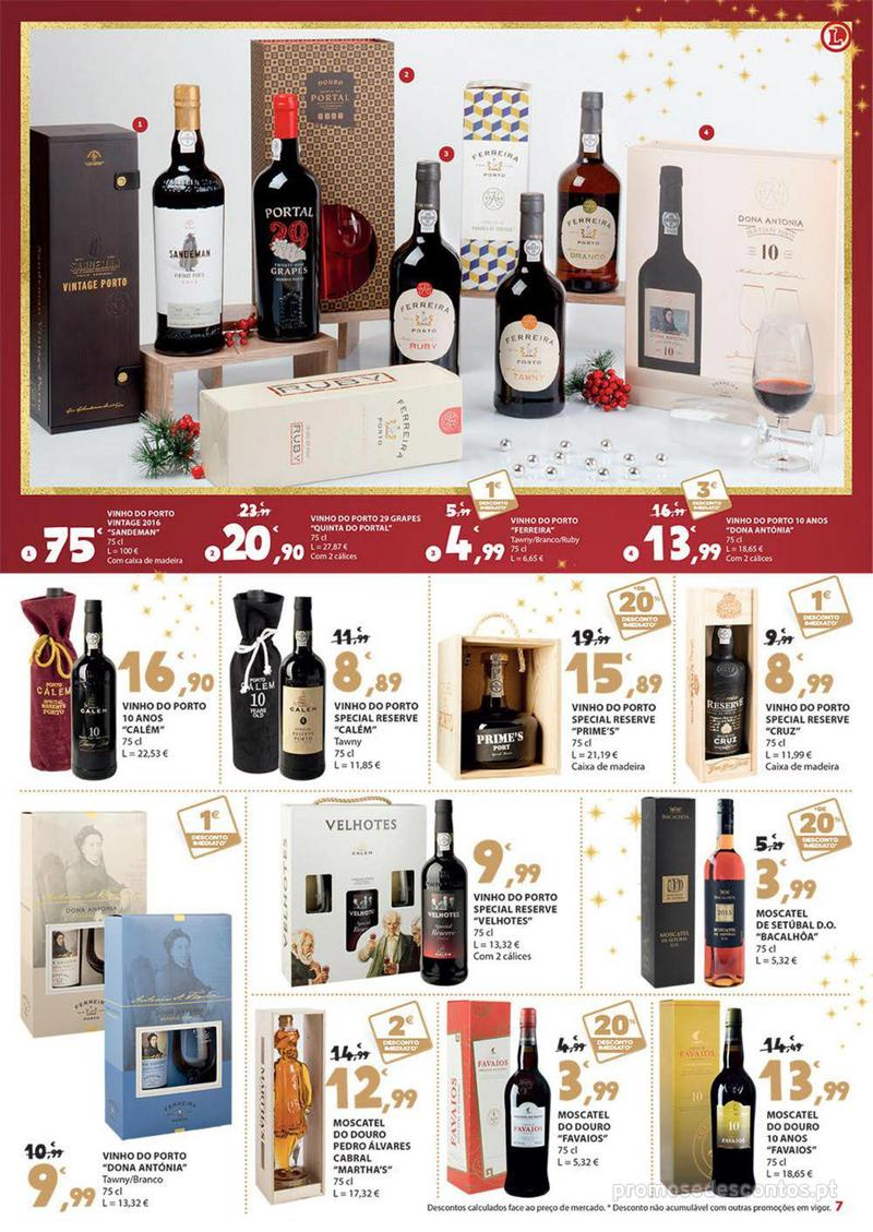 Folheto E.leclerc Presentes para um Natal delicioso - 30 de Novembro a 16 de Dezembro - página 7
