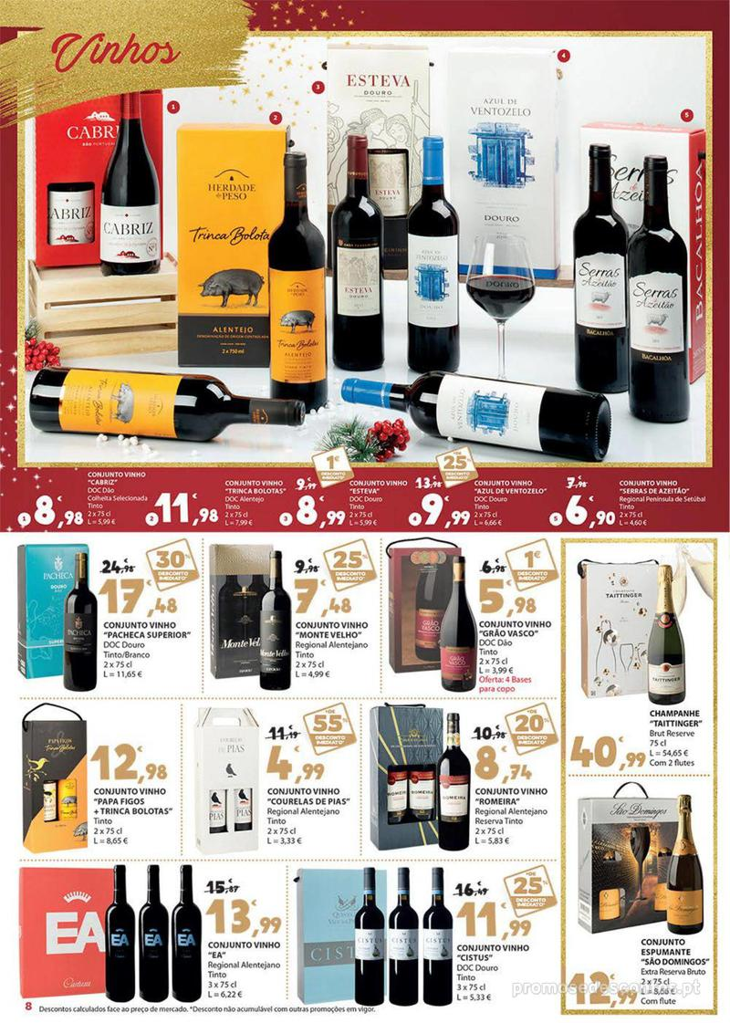 Folheto E.leclerc Presentes para um Natal delicioso - 30 de Novembro a 16 de Dezembro - página 8