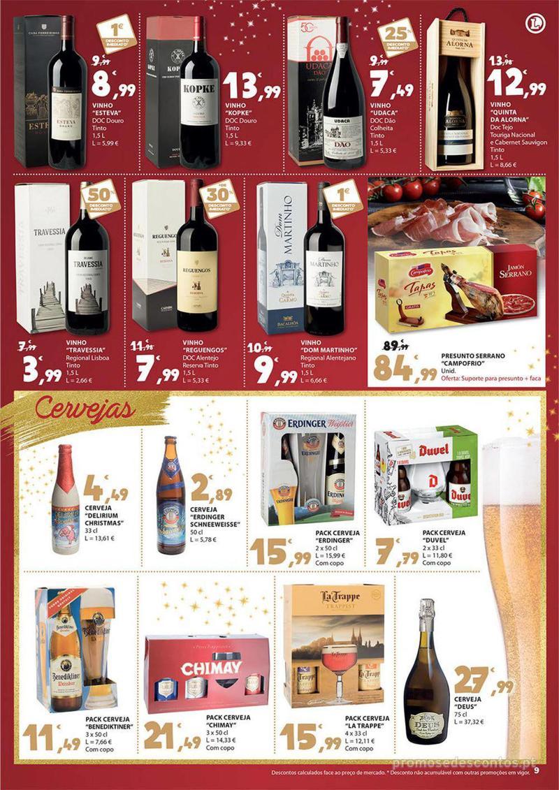 Folheto E.leclerc Presentes para um Natal delicioso - 30 de Novembro a 16 de Dezembro - página 9
