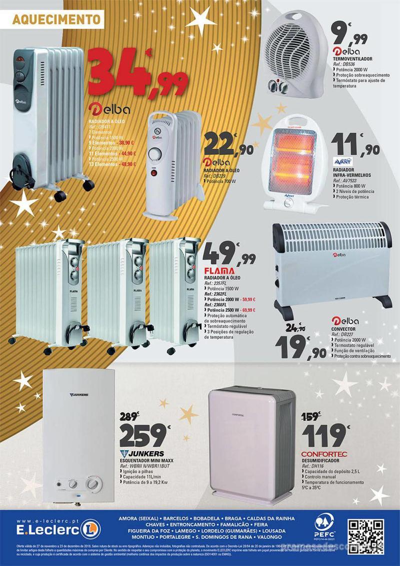 Folheto E.leclerc Temos os melhores presentes de Natal para si! - 27 de Novembro a 23 de Dezembro - página 12