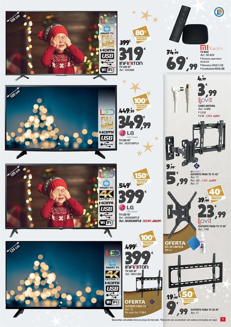 Folheto E.leclerc Temos os melhores presentes de Natal para si! - 27 de Novembro a 23 de Dezembro - página 3