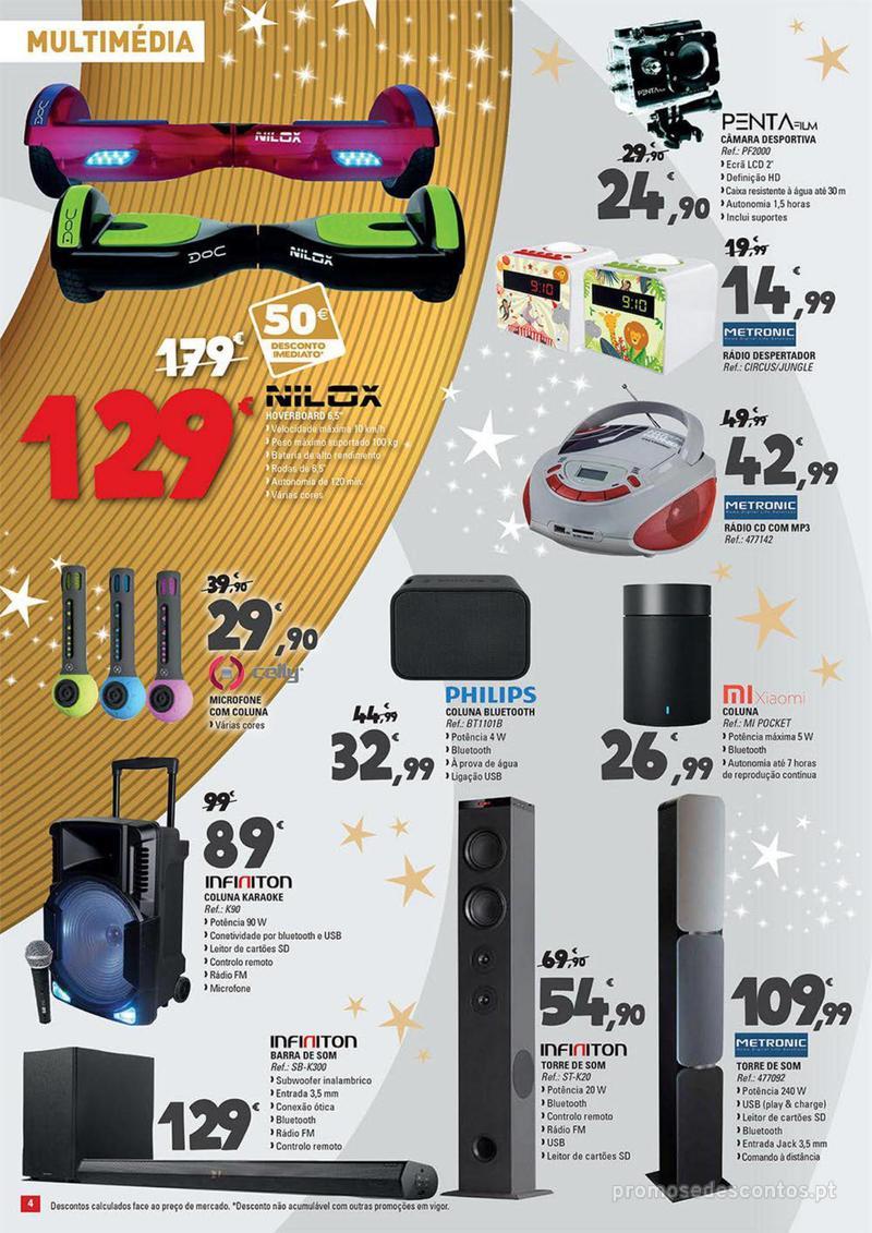 Folheto E.leclerc Temos os melhores presentes de Natal para si! - 27 de Novembro a 23 de Dezembro - página 4