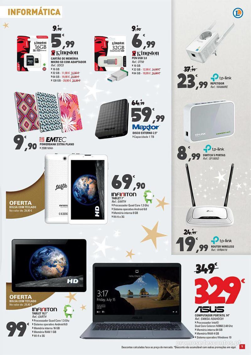 Folheto E.leclerc Temos os melhores presentes de Natal para si! - 27 de Novembro a 23 de Dezembro - página 5