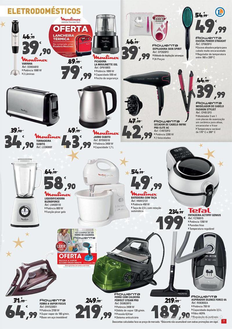 Folheto E.leclerc Temos os melhores presentes de Natal para si! - 27 de Novembro a 23 de Dezembro - página 7