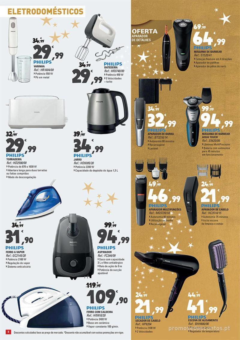 Folheto E.leclerc Temos os melhores presentes de Natal para si! - 27 de Novembro a 23 de Dezembro - página 8