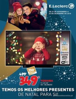 Temos os melhores presentes de Natal para si! - 27 de Novembro a 23 de Dezembro