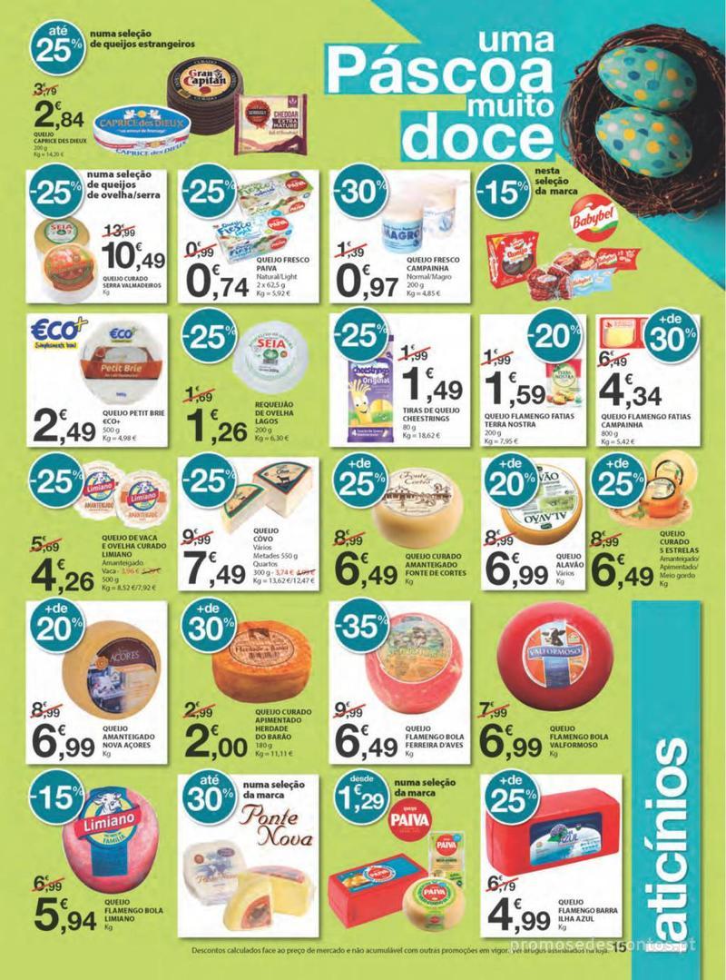 Folheto E.leclerc Na Páscoa a tradição é pagar pouco - 11 de Abril a 21 de Abril - página 15