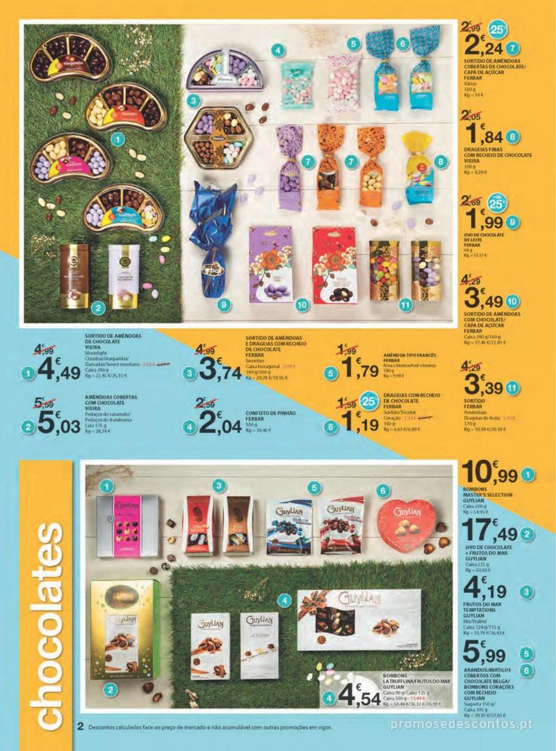 Folheto E.leclerc Na Páscoa a tradição é pagar pouco - 11 de Abril a 21 de Abril - página 2