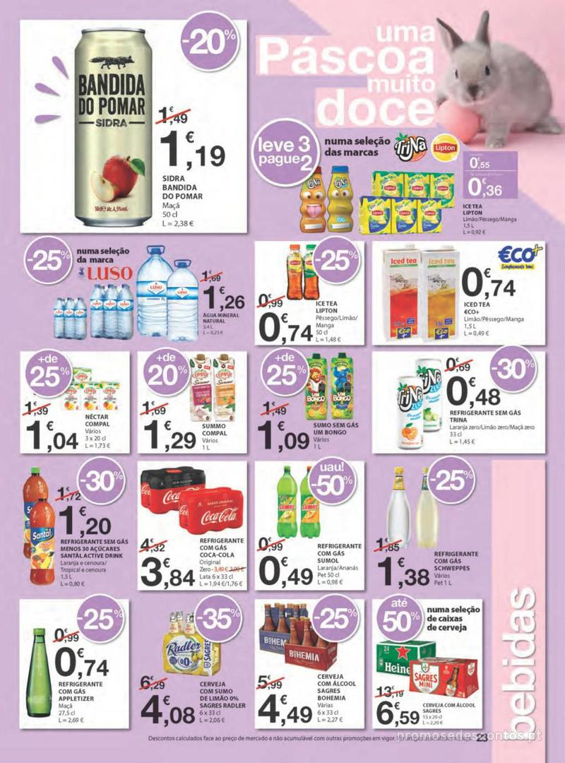 Folheto E.leclerc Na Páscoa a tradição é pagar pouco - 11 de Abril a 21 de Abril - página 23