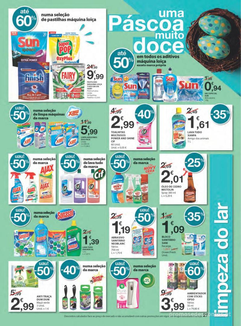 Folheto E.leclerc Na Páscoa a tradição é pagar pouco - 11 de Abril a 21 de Abril - página 27