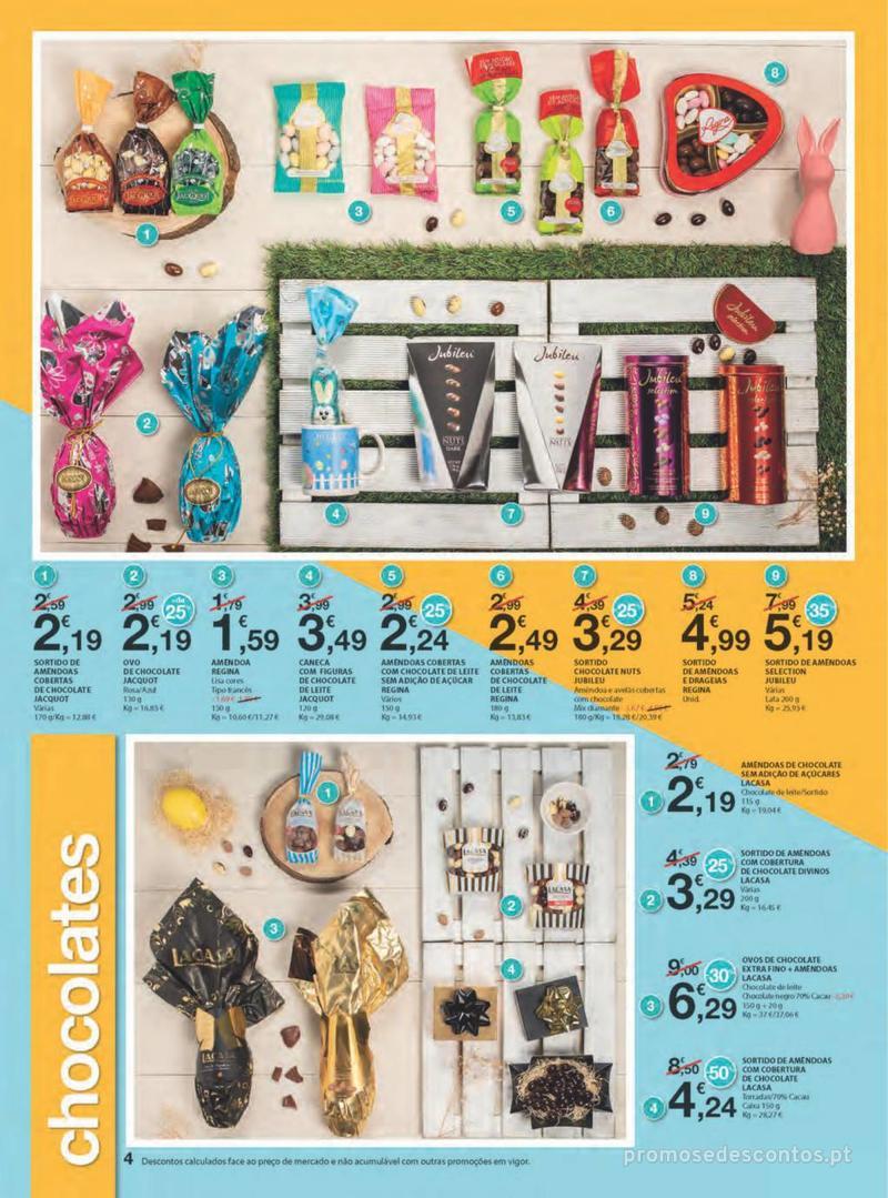 Folheto E.leclerc Na Páscoa a tradição é pagar pouco - 11 de Abril a 21 de Abril - página 4