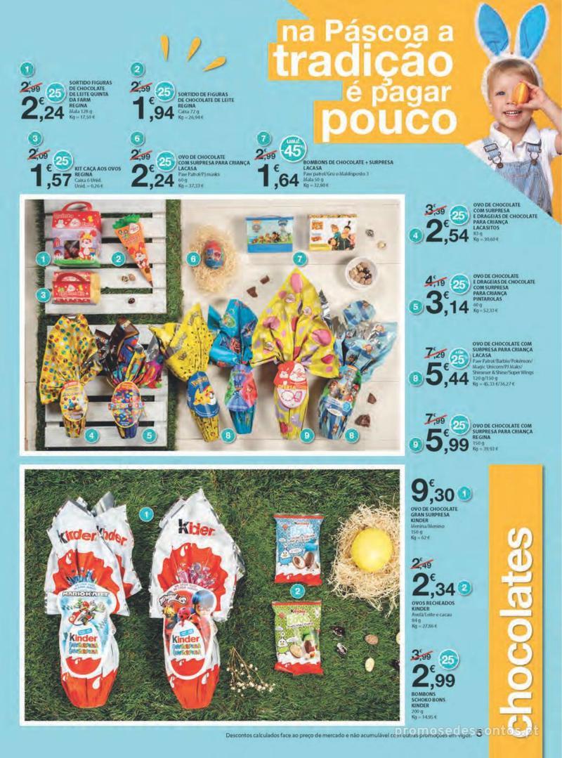 Folheto E.leclerc Na Páscoa a tradição é pagar pouco - 11 de Abril a 21 de Abril - página 5
