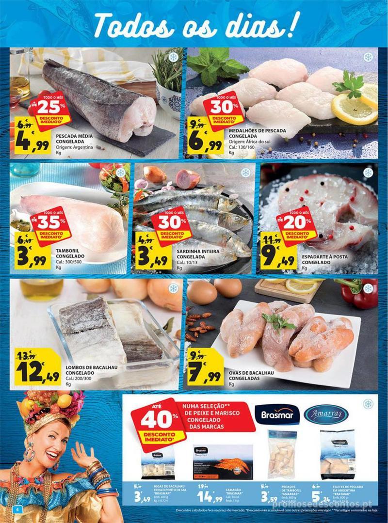 Folheto E.leclerc Tem frescos como ninguém - 2 de Janeiro a 31 de Janeiro - página 4