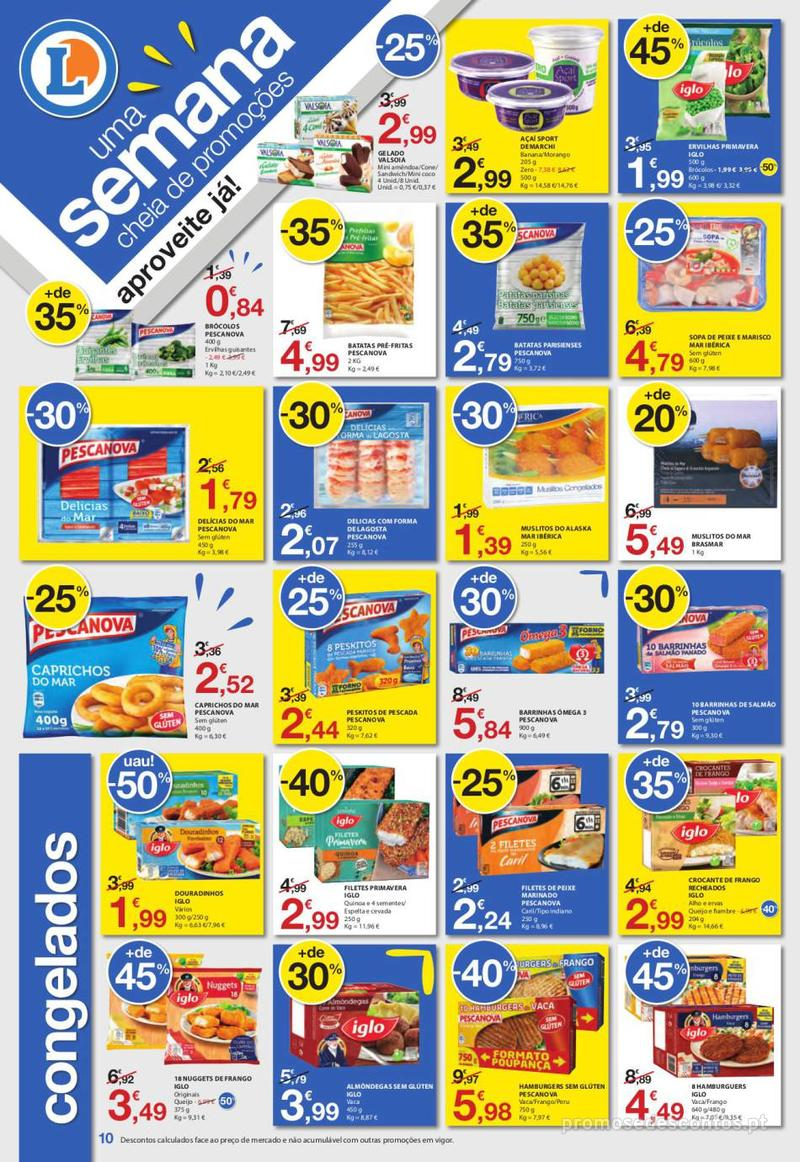 Folheto E.leclerc Uma semana cheia de promoções - 6 de Junho a 12 de Junho - página 10