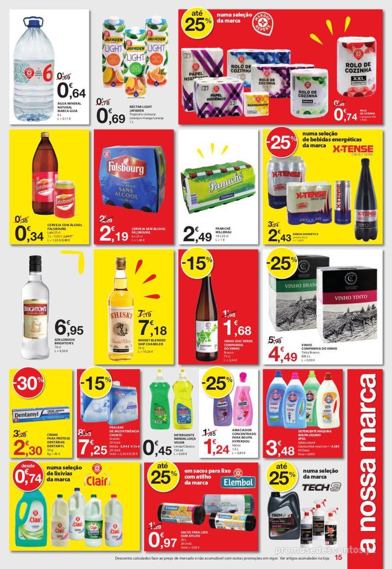 Folheto E.leclerc Uma semana cheia de promoções - 6 de Junho a 12 de Junho - página 15