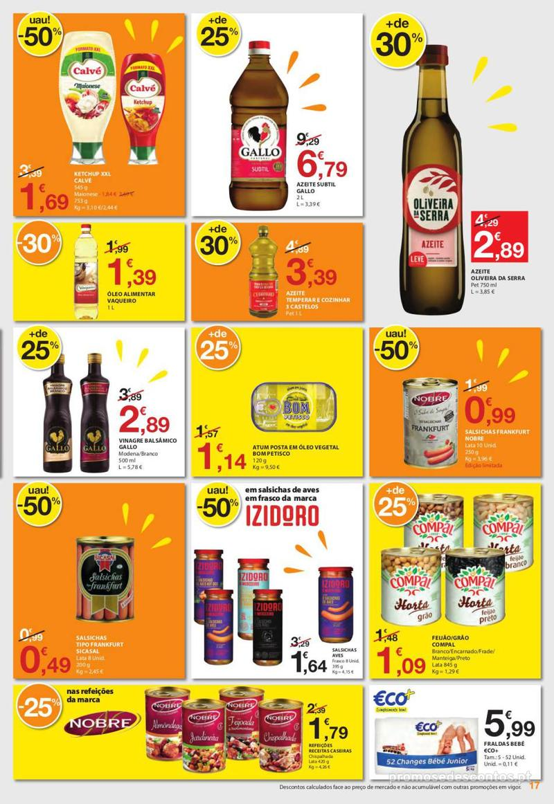 Folheto E.leclerc Uma semana cheia de promoções - 6 de Junho a 12 de Junho - página 17