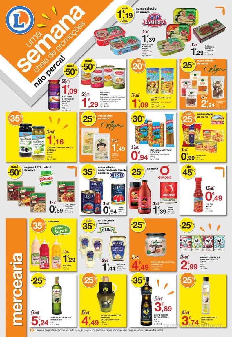 Folheto E.leclerc Uma semana cheia de promoções - 6 de Junho a 12 de Junho - página 18