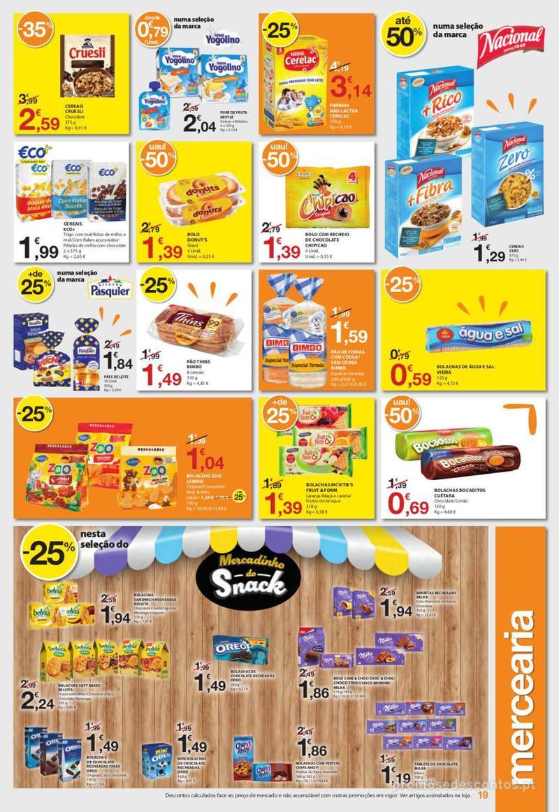 Folheto E.leclerc Uma semana cheia de promoções - 6 de Junho a 12 de Junho - página 19