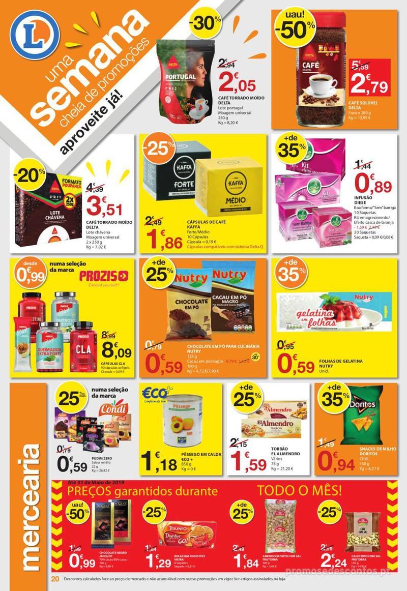 Folheto E.leclerc Uma semana cheia de promoções - 6 de Junho a 12 de Junho - página 20