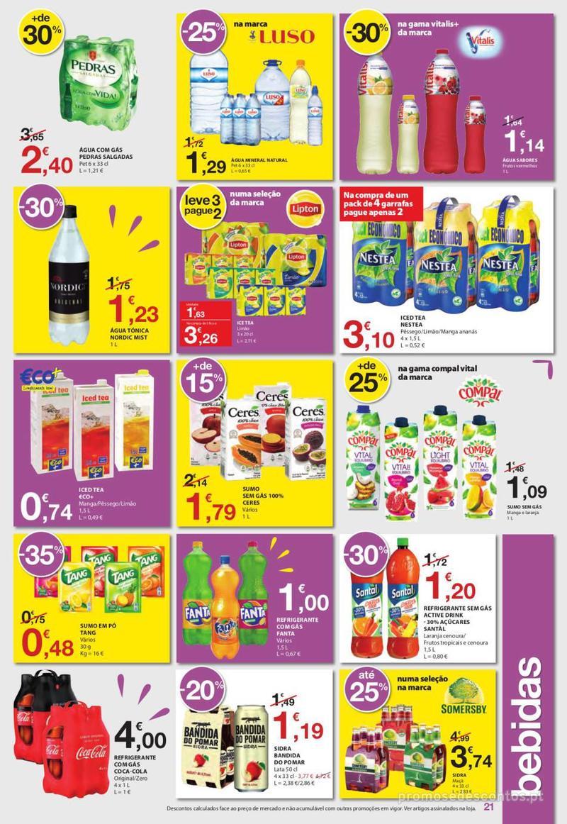 Folheto E.leclerc Uma semana cheia de promoções - 6 de Junho a 12 de Junho - página 21