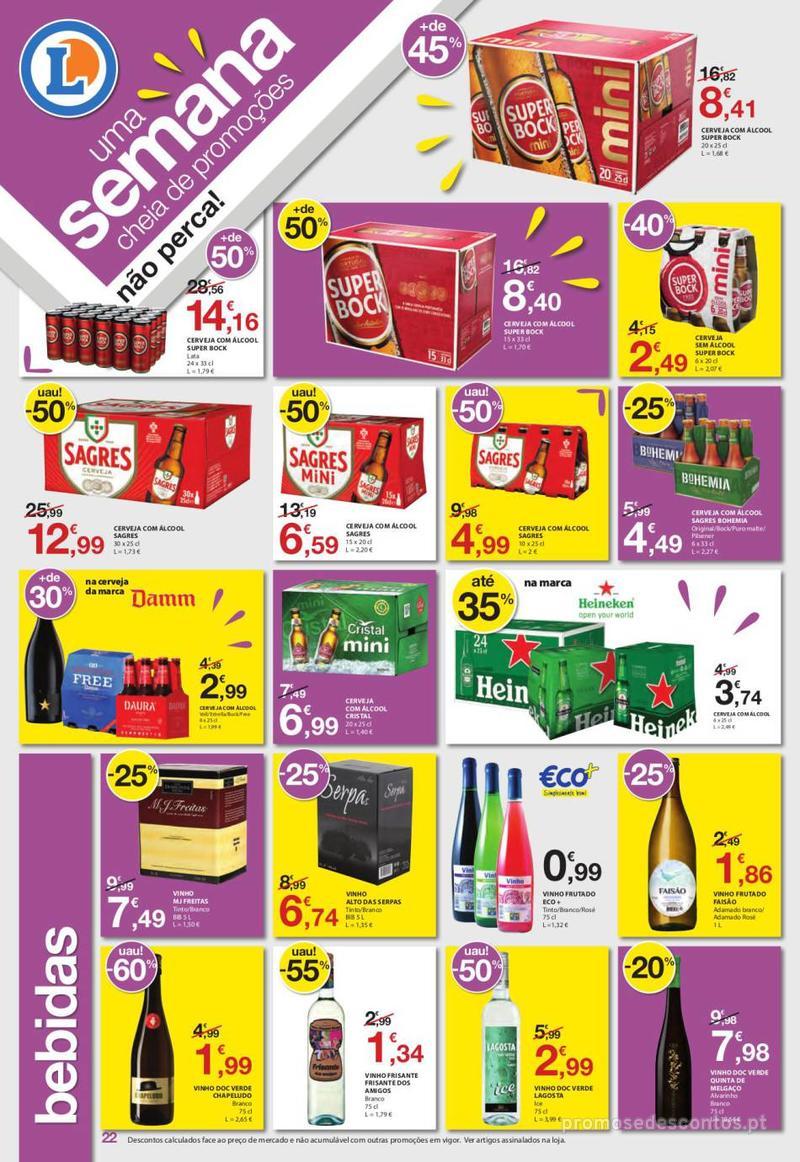 Folheto E.leclerc Uma semana cheia de promoções - 6 de Junho a 12 de Junho - página 22