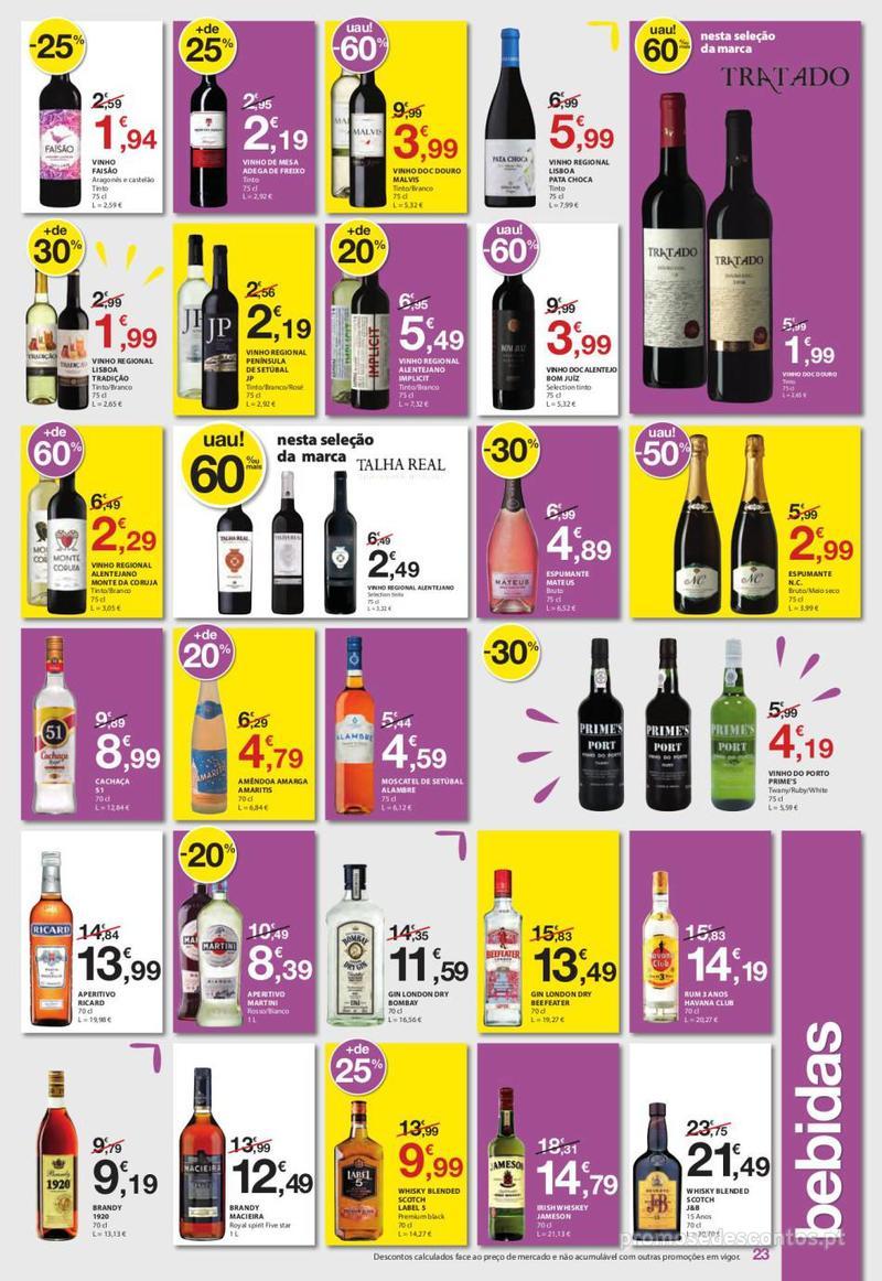 Folheto E.leclerc Uma semana cheia de promoções - 6 de Junho a 12 de Junho - página 23