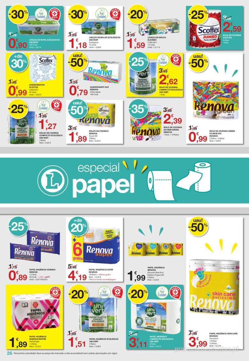 Folheto E.leclerc Uma semana cheia de promoções - 6 de Junho a 12 de Junho - página 26