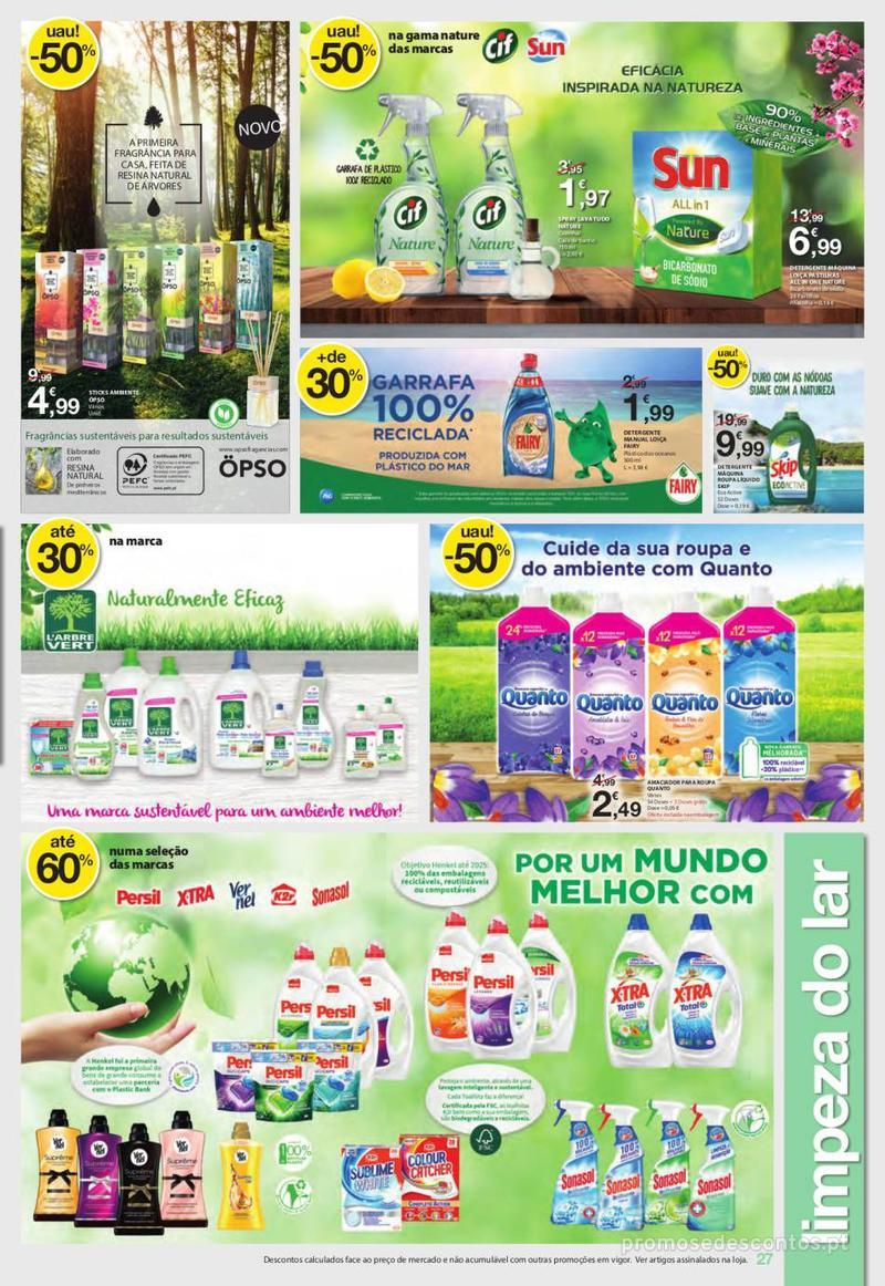 Folheto E.leclerc Uma semana cheia de promoções - 6 de Junho a 12 de Junho - página 27