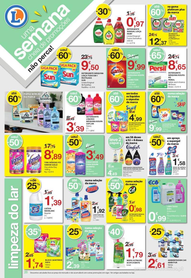 Folheto E.leclerc Uma semana cheia de promoções - 6 de Junho a 12 de Junho - página 28